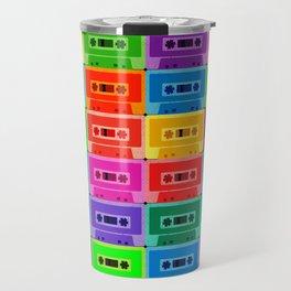 Neon Cassettes Travel Mug