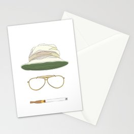 Movie Icons: Fear and Loathing in Las Vegas Stationery Cards