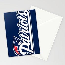 Patriots Logo  Stationery Cards