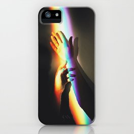 The Love Left. Grasping At The Imaginary iPhone Case