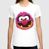 muppets T-shirts featuring Animal Muppets Babies by Roe Mesquita