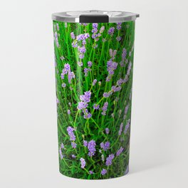 Lavender Close Up Travel Mug