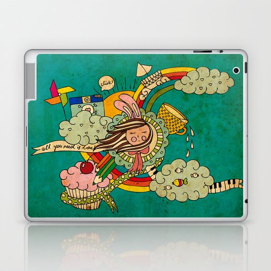 My Story Laptop & iPad Skin