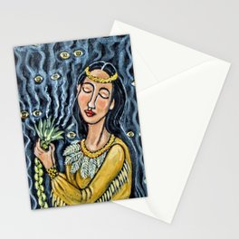 Sweetgrass Smudge * Nature Maiden Stationery Cards