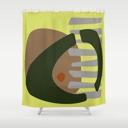 abstact Shower Curtain