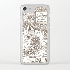 Map of Bohemia Clear iPhone Case