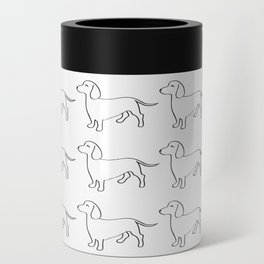 Doxie Love - White Can Cooler