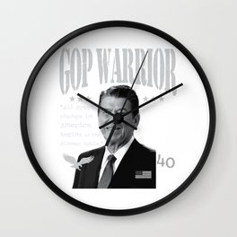 Ronald Reagan | GOP Warrior | All great change in America begins at the dinner table  Wall Clock