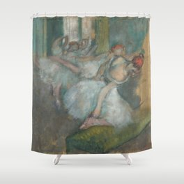 Ballet Dancers by Hilaire-Germain-Edgar Degas Shower Curtain