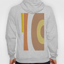 Peach retro design Hoody