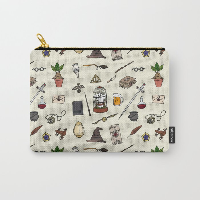 Harry Pattern Carry-All Pouch