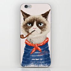 Sailor Cat V iPhone & iPod Skin