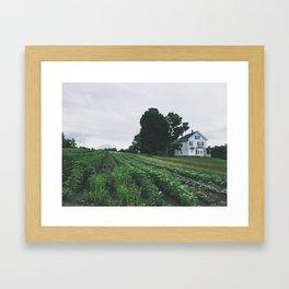 farm. house. Framed Art Print