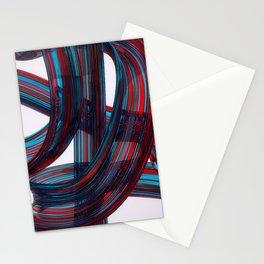 Glass Brush Stroke Stationery Cards