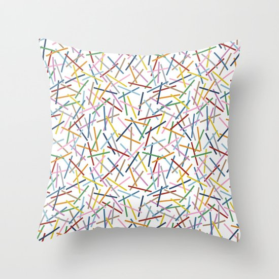 Kerplunk Repeat 2 Throw Pillow