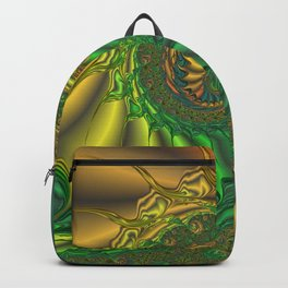 Dragon's Lair - Fractal Art Backpack