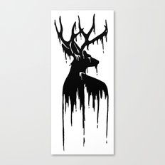 Painted Stag V.2 Canvas Print