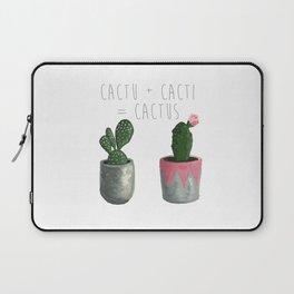 Cactu + Cacti = Cactus Laptop Sleeve