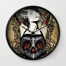Barbed Ambition Wall Clock