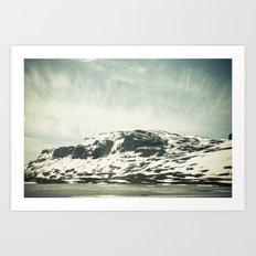Norwegian Mountains Art Print