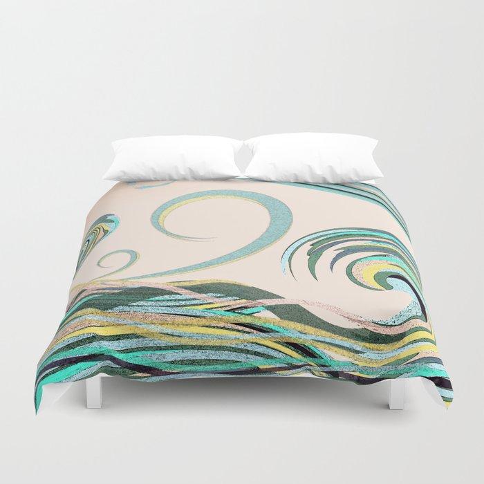 In the Drink Duvet Cover