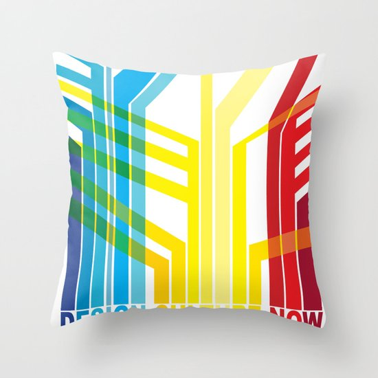 Design Culture Throw Pillow
