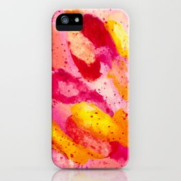Feather Sunset iPhone Case