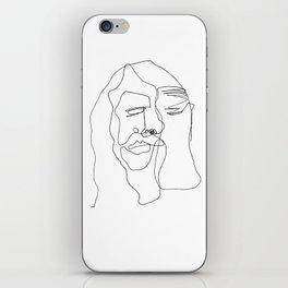 Portrait of Jesus iPhone Skin