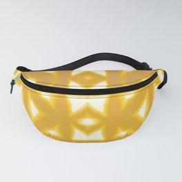 Yellow Pima Shibori Fanny Pack