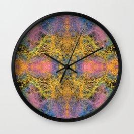 Pulsar Abstract Wall Clock