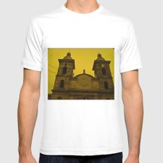 CUP OF THE CHURCH OF COLOMBIA Cundinamarca Sasaima Mens Fitted Tee SMALL White