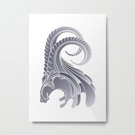 Ram Animal Metal Print