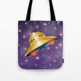 UFO in the Universe Tote Bag