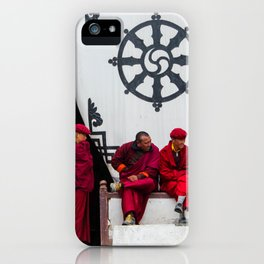 monks iPhone Case
