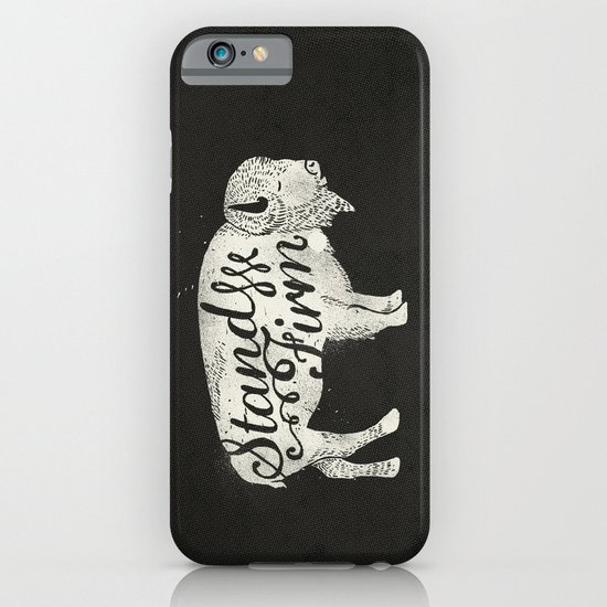 Stand Firm iPhone & iPod Case