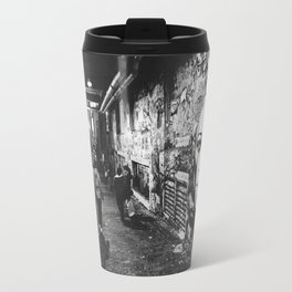 Seattle, Post Alley murals Travel Mug