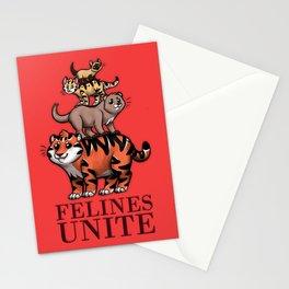 Felines Unite Stationery Cards