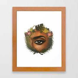 Lover's Eye Framed Art Print