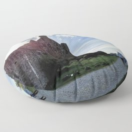 Eilean Donan Castle - Scotland Floor Pillow