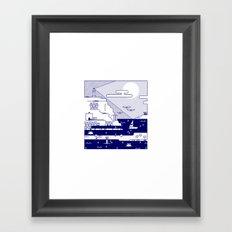 Places 2 Framed Art Print