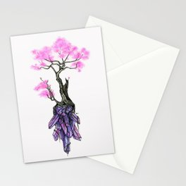 Cherry Crystals Stationery Cards