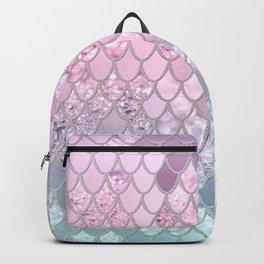 Mermaid Glitter Scales #2 #shiny #decor #art #society6 Backpack