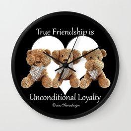 Teddy & Lily Wall Clock