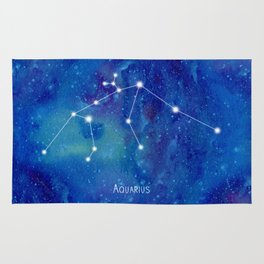 Constellation Aquarius Rug