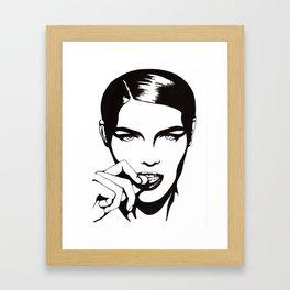 In Black & White III Framed Art Print