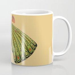 green moth (ORIGINAL SOLD). Coffee Mug