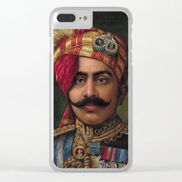 MAHARAJA PORTRAIT Clear iPhone Case