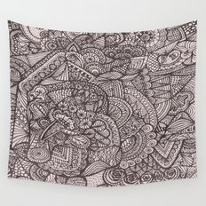 Doodle 8 Wall Tapestry