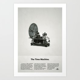 The Time Machine – Classic Beetle Ad Art Print