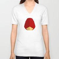 daredevil V-neck T-shirts featuring Daredevil by Oblivion Creative